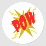 COMIC POW! stickers