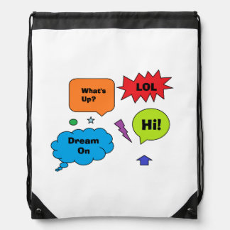 """""""Comic Quotes"""" Backpack"""