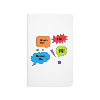 Comic Quotes Pocket Journal
