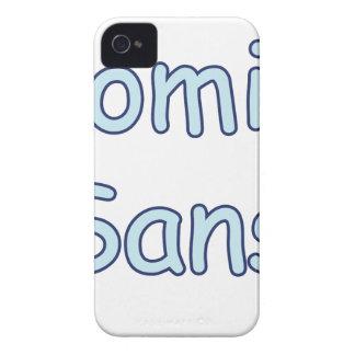 comic sans Case-Mate iPhone 4 cases