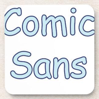 comic sans coaster