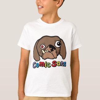 Comic Sans Dog T-Shirt