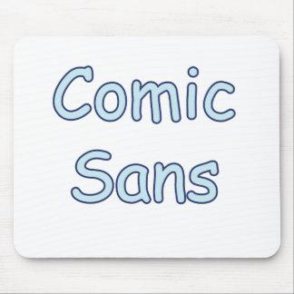 comic sans mouse pad