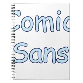comic sans notebook