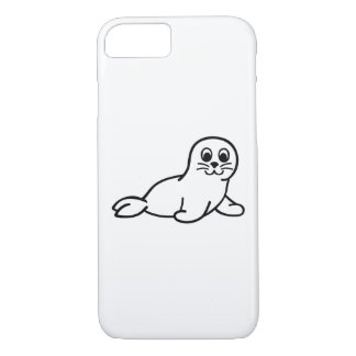 Comic seal iPhone 7 case