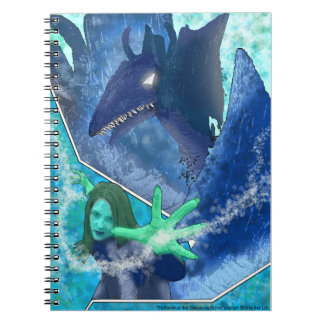 Comic - shade Woogy - Tiberius of quarreling Spiral Notebook