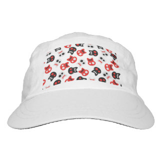 Comic Skull colorful pattern Hat