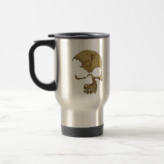 Comic Skull travel mug