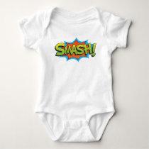 Comic Smash! Baby Bodysuit