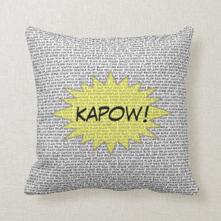 Comic Speak Decorative Pillow