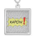 Comic Speak KAPOW! pendant