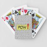 Comic Speak Superhero Playing Cards