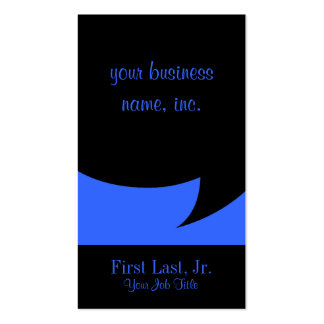 Comic Speech Bubble Double-Sided Standard Business Cards (Pack Of 100)