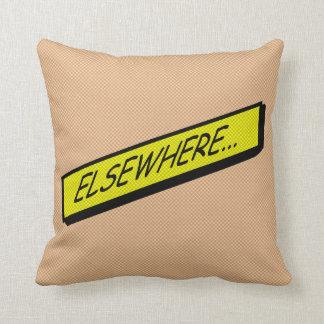 Comic-strip cushion – elsewhere... throw pillow