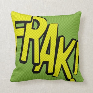 Comic-strip cushion – frak! pillow
