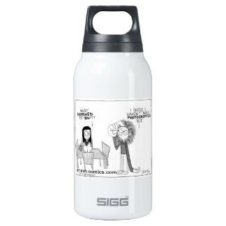 Comic Strip 10 Oz Insulated SIGG Thermos Water Bottle