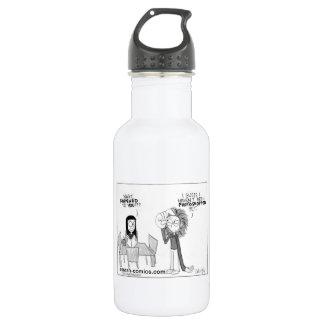 Comic Strip Stainless Steel Water Bottle