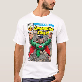 Comic style customizable Superhero T-Shirt