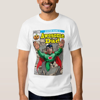 Comic style customizable Superhero Tee Shirt