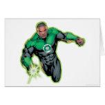 Comic Style - Green Lantern Greeting Card