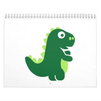 Comic T-Rex Calendar