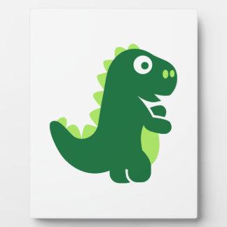 Comic T-Rex Plaque