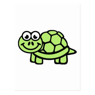 Comic turtle postcard
