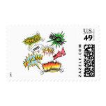 Comic Variety Postage Stamp