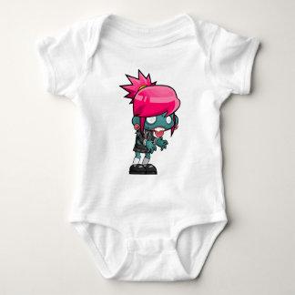 Comic Woman Zombie Baby Bodysuit