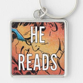 "COMICAL 2"" Square Keychain 
