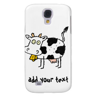 Comical Cow iPhone 3G/3GS Case Samsung Galaxy S4 Cover