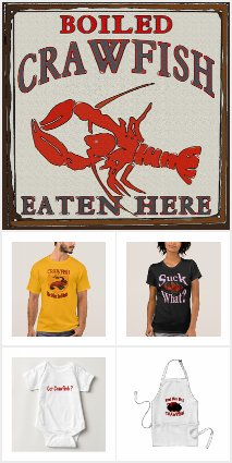 Comical Crawfish, Crayfish, and Lobsters