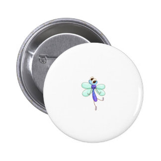 Comical creature 2 inch round button