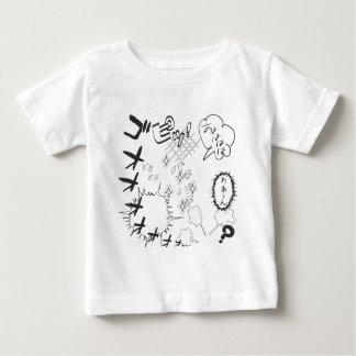 Comical effect of Japanese Manga T Shirt