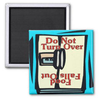 Comical fridge magnet, Do Not Turn Over Magnet