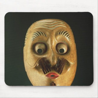 Comical Mask, Noh Theatre Mouse Pad