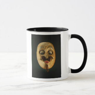 Comical Mask, Noh Theatre Mug