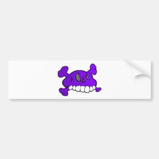 Comical Skull Bumper Stickers