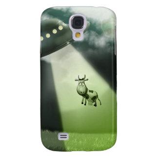 Comical UFO Cow Abduction Case HTC Vivid / Raider 4G Cover