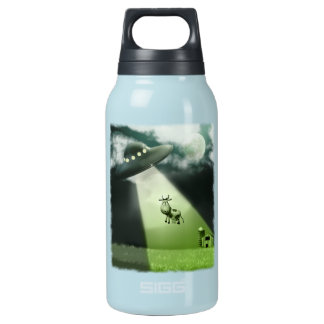 Comical UFO Cow Abduction  Liberty Bottle SIGG Thermo 0.3L Insulated Bottle