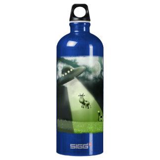 Comical UFO Cow Abduction  Liberty Bottle SIGG Traveler 1.0L Water Bottle