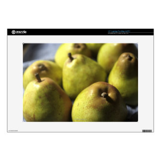 """Comice Pears 15"""" Laptop Decals"""