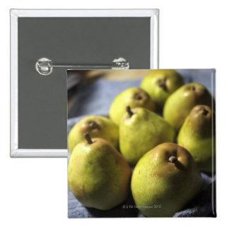 Comice Pears Pinback Button