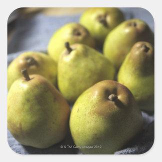 Comice Pears Square Sticker