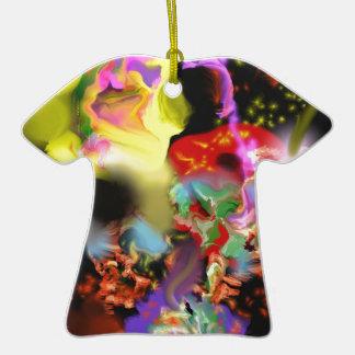 """""""Cómico ornamento de la camiseta de los errores"""" Ornaments Para Arbol De Navidad"""