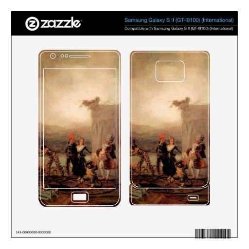 Comicos Ambulantes by Francisco de Goya Samsung Galaxy S II Skin