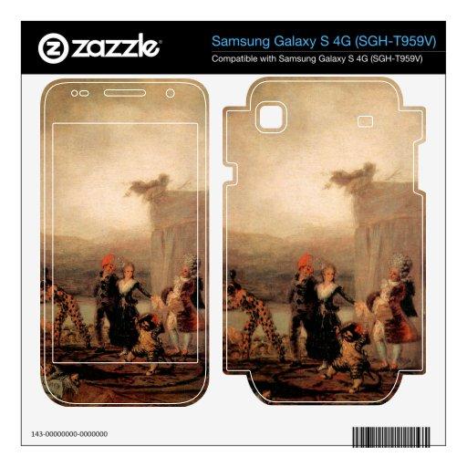 Comicos Ambulantes by Francisco de Goya Samsung Galaxy S 4G Skin