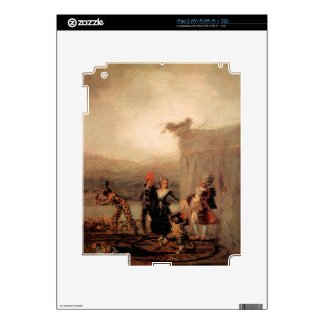 Comicos Ambulantes by Francisco de Goya Skin For iPad 2