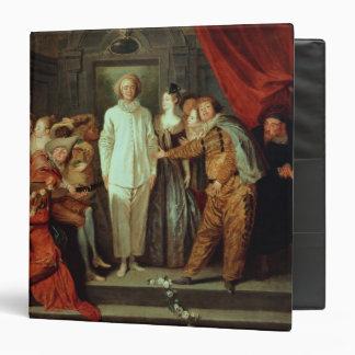 Cómicos italianos c 1720