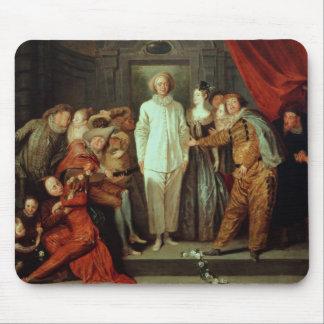 Cómicos italianos, c.1720 mouse pads